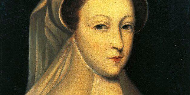 Portrait of Mary Stuart, Italianized into Maria Stuarda (Linlithgow, 1542-Fotheringhay, 1587), Queen...
