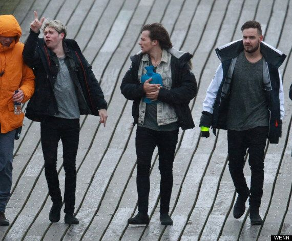 One Direction Film New Music Video On Somerset's Clevedon Pier