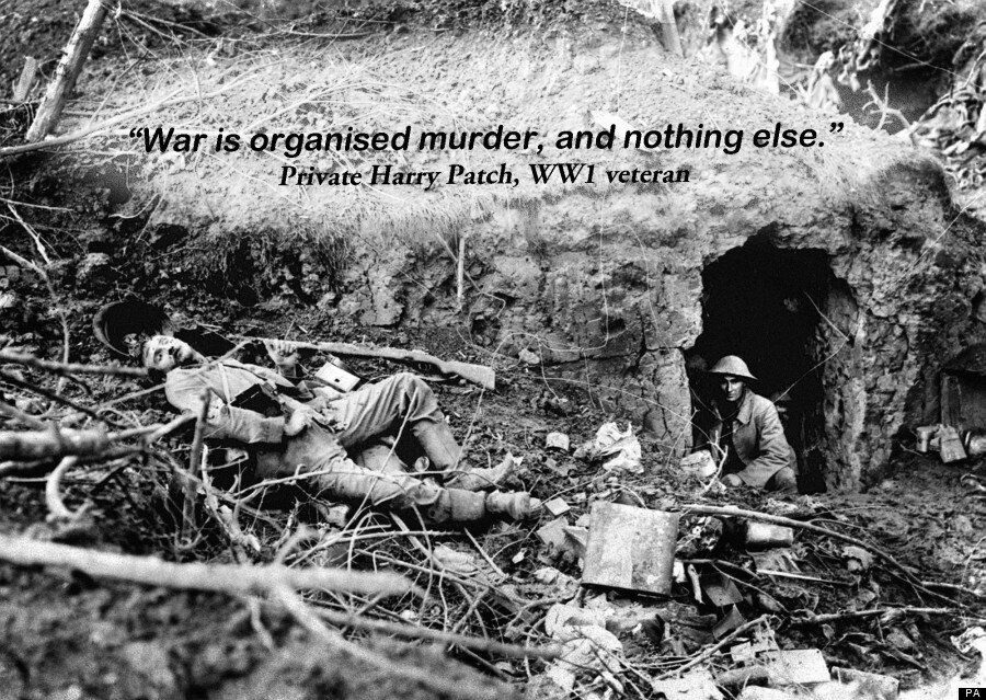 'War Is Organised Murder': How Those Who Served Described The First World War, On Remembrance