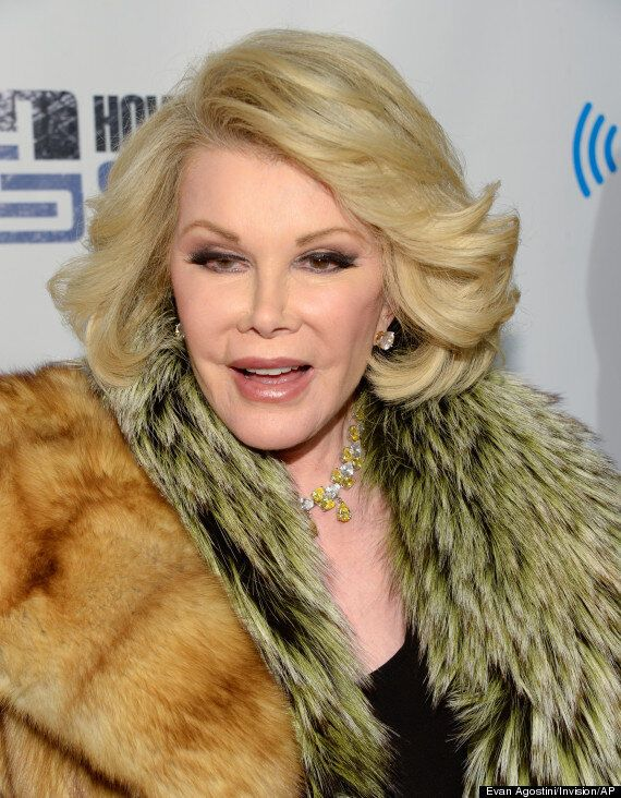 Joan Rivers' Family Thank Fans For Support After 'Fashion Police' Star 'Put Into A Medically-Induced