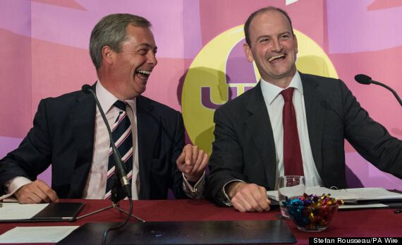 Douglas Carswell Among 'Nine Conservatives Wined And Dined By Ukip