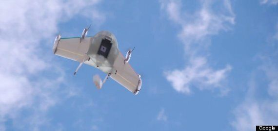 Google Delivery Drones Being Tested In