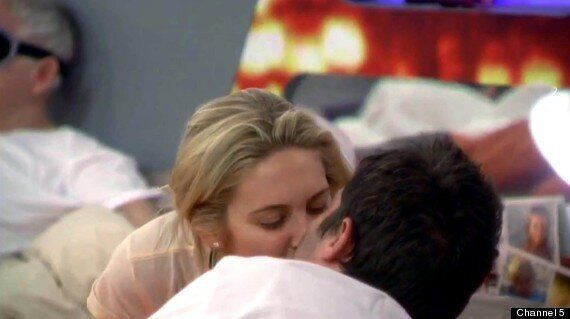 'Celebrity Big Brother': George Gilbey And Stephanie Pratt Share A Kiss In The Bedroom - Is Romance Blossoming?
