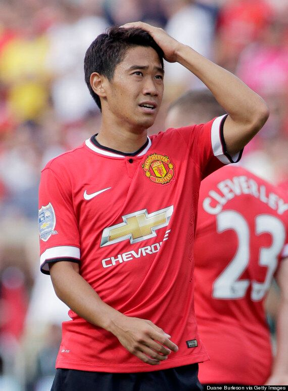 Shinji Kagawa's Manchester United Career Ended By Wayne Rooney's
