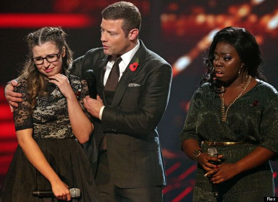 'X Factor': Abi Alton Breaks Down In Tears As She Loses Out To Hannah Barrett In The Sing-Off