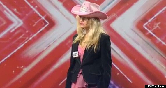 'The X Factor': Watch Chloe Jasmine's First Audition From 2006, Wearing A Shocking Pink Cowboy Hat And...