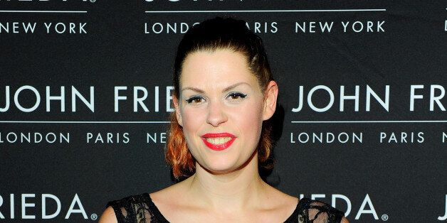 LONDON, ENGLAND - OCTOBER 29:  Fifi Trixibelle Geldof arrives at the John Frieda party celebrating 25 years of transforming women's hair at Claridges Hotel on October 29, 2013 in London, England.  (Photo by David M. Benett/Getty Images for John Frieda)