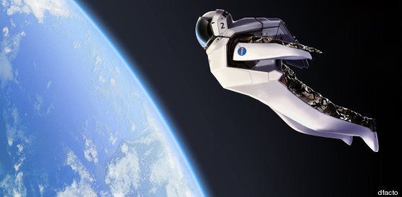 Concept Astronaut Re-Entry Spacesuit Looks Ace - But Someone Else Can Try It