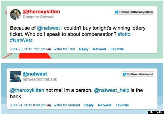 Tweeters Mix Up John Lewis, WHSmith, Natwest With
