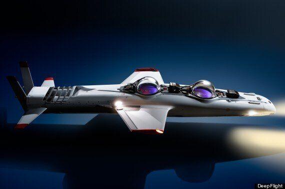 Luxury Submarine Unveiled By 'James Bond' Stunt