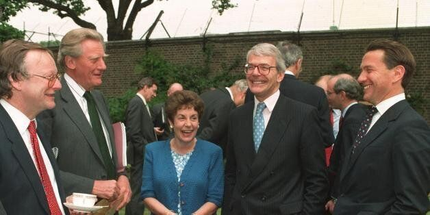 John Major Criticises Privately Educated People In Power Despite Picking A Cabinet Dominated By