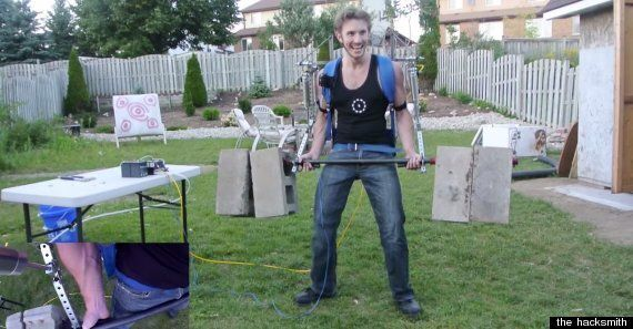 Man Builds His Own Iron Man Suit, It Actually