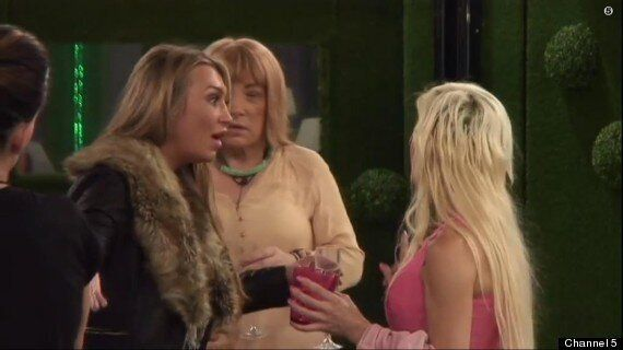 'Celebrity Big Brother': Lauren Goodger And Frenchy Fight In 'CBB' House