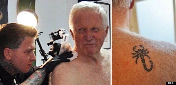 David Dimbleby Tattoo: 'Modest' Scorpion For Broadcaster... & Ten Other Unlikely Inkings