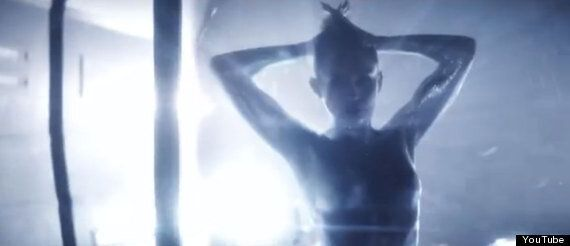 Miley Cyrus Naked And Covered In Silver Body Paint For Future's 'Real And True'