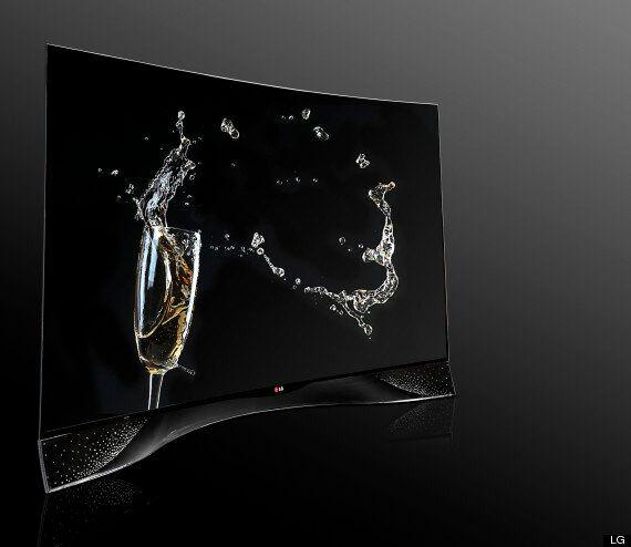 LG's New TV Is Covered In Swarovski