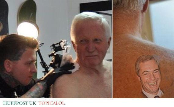 David Dimbleby's Tattoo Is Worse Than We Feared