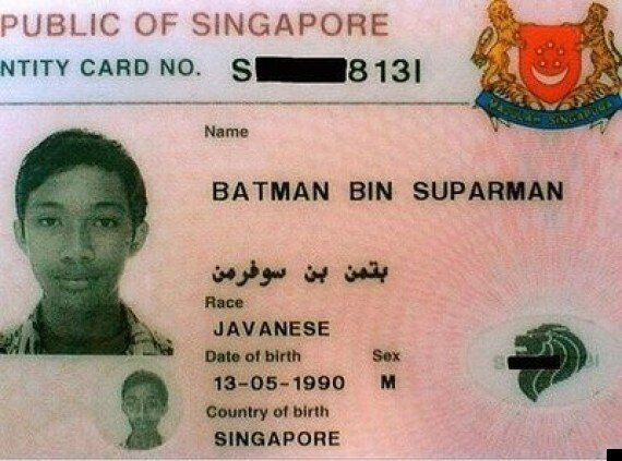 Batman Bin Suparman, Singaporean Man With Unlikely Name Jailed For Three