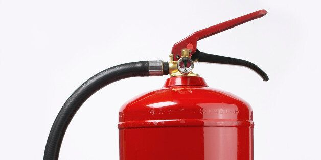 Joseph Small is said to have inserted the hose of a fire extinguisher into his bottom (file