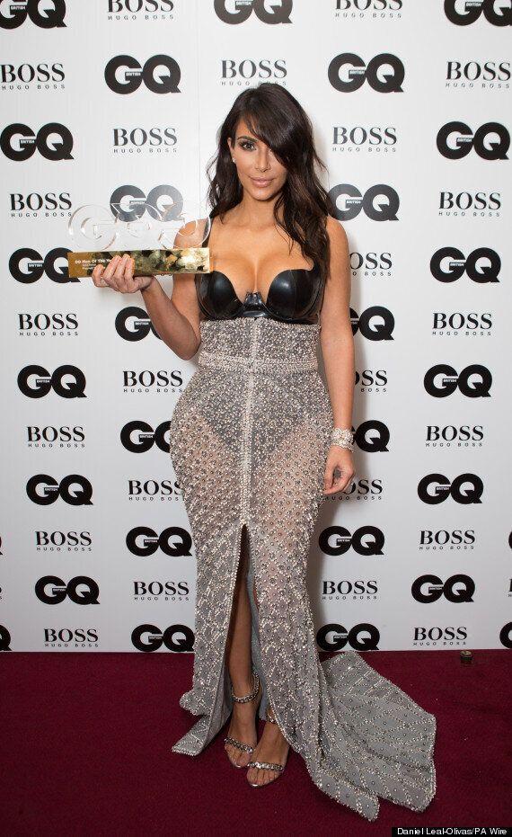 GQ Men Of The Year Awards: Kim Kardashian West Realises She's Been Presented Pharrell Williams' Prize