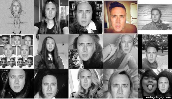'Feeling Cagey' Replaces Instagram Selfies With Nicholas Cage's