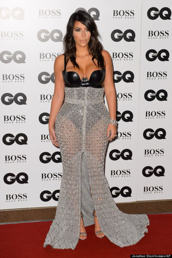 Kim Kardashian Naked Pictures Published In GQ Magazine After Woman Of The Year Award Win (NSFW