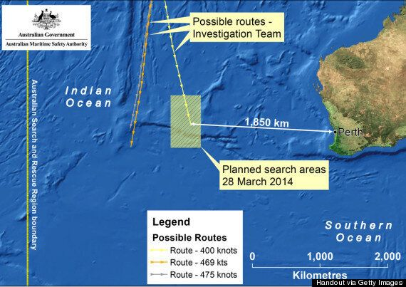 Missing Plane MH370 Travelling 'Faster Than Expected', Prompting Race To New Search