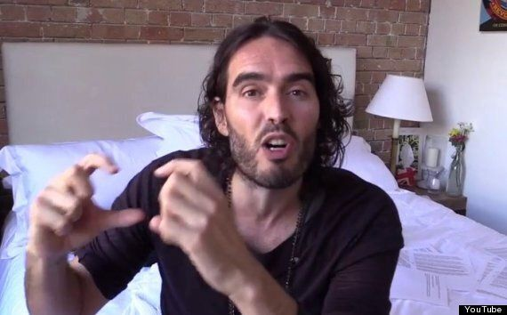 Russell Brand Says We Are All To Blame For The Escalating Crisis In