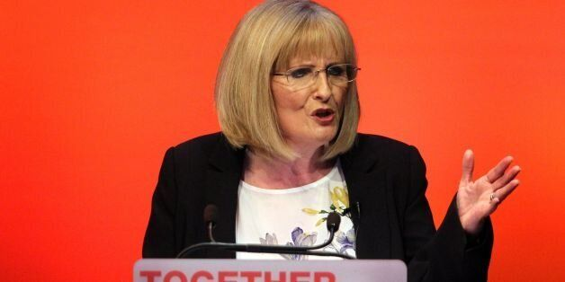 Labour Shadow Secretary of State for Scotland Margaret Curran during her speech at the Scottish Labour...