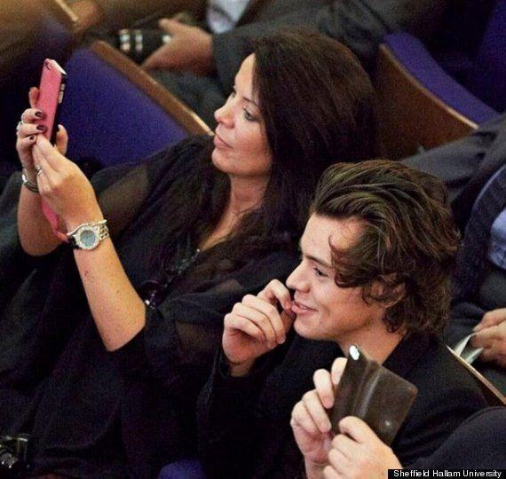 Harry Styles Celebrates Sister Gemma Anne Styles' Graduation At Sheffield Hallam University