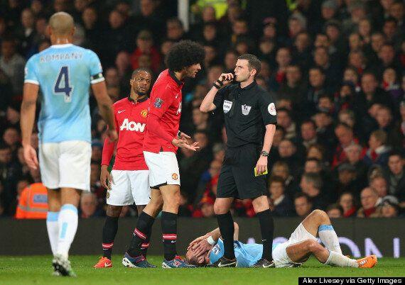 Marouane Fellaini Under Investigation By FA Over Pablo Zabaleta 'Spitting'