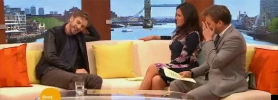 Susanna Reid Asks Former 'Downton Abbey' Star Dan Stevens If He Had To 'Beat Off A Lot Of Men' To Land...