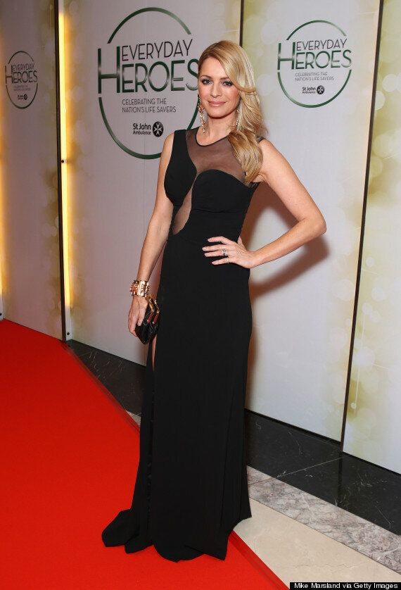 Tess Daly Wows On The Red Carpet At London Everyday Heroes Event