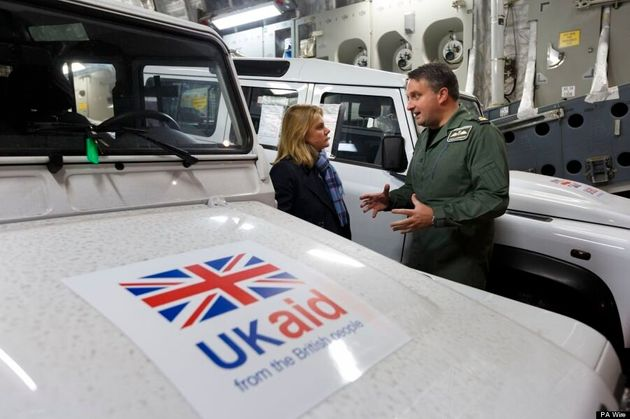 Typhoon Haiyan: Britain Sends Plane Full Of Diggers, Land Rovers To Assist With