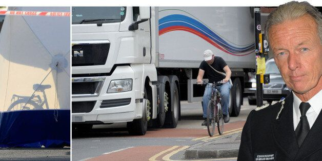 Cyclists 'one wobble' from