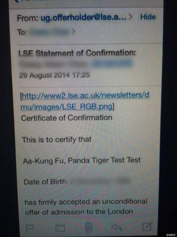 LSE Apologises After 'Racist' Kung-Fu Panda Email.. As 30% Of Its Students Are From