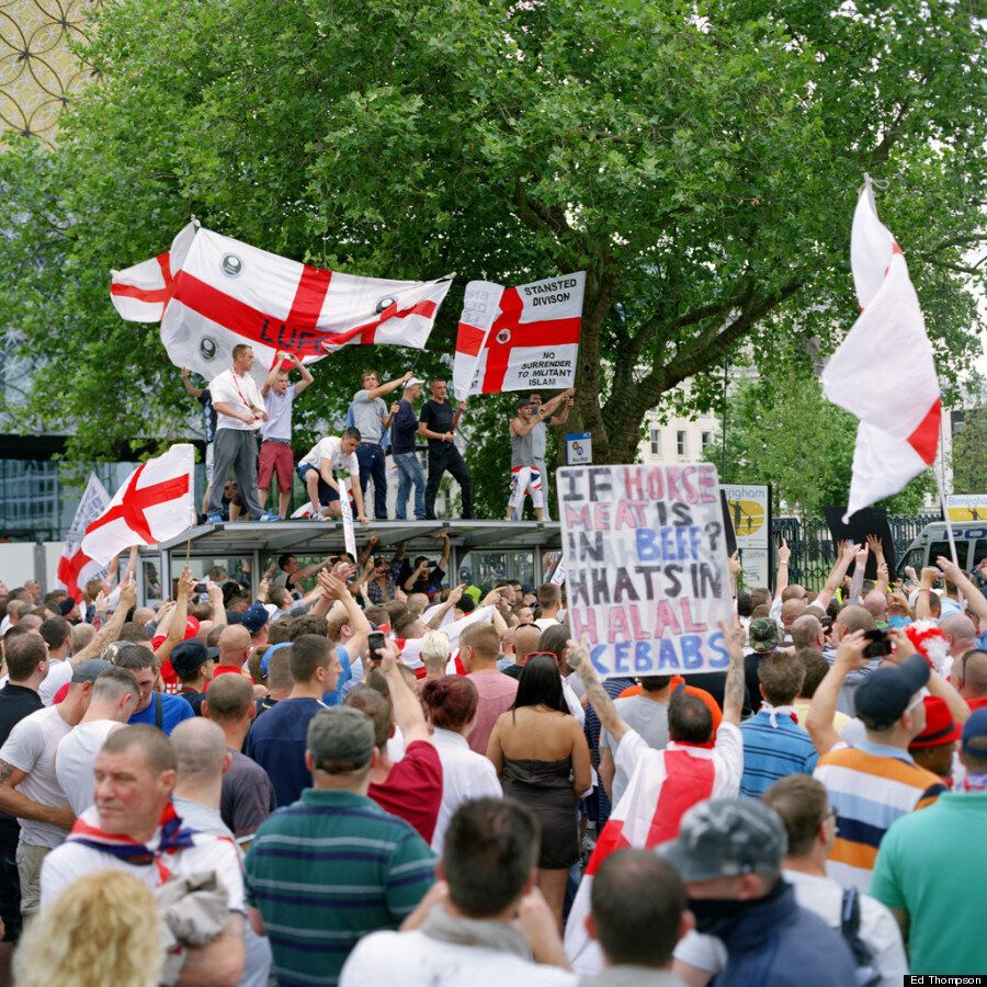 EDL Photo Project By Ed Thompson Documents Three Years Of Controversy, Marches And Tommy Robinson