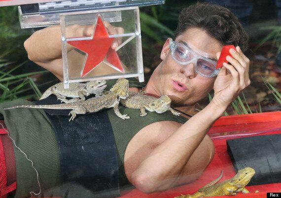 'I'm A Celebrity' Preview: Joey Essex Comes Face-To-Face With Lizards In First Bushtucker Trial