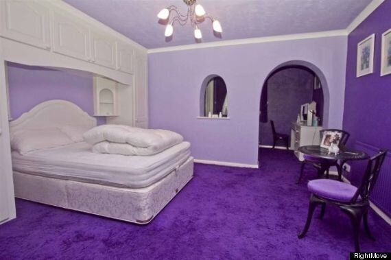 Purple House Advertised On RightMove Is