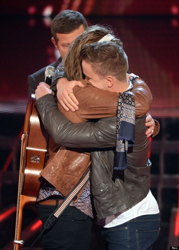 'X Factor': Sam Callahan Is Voted Off After Sing-Off With Luke