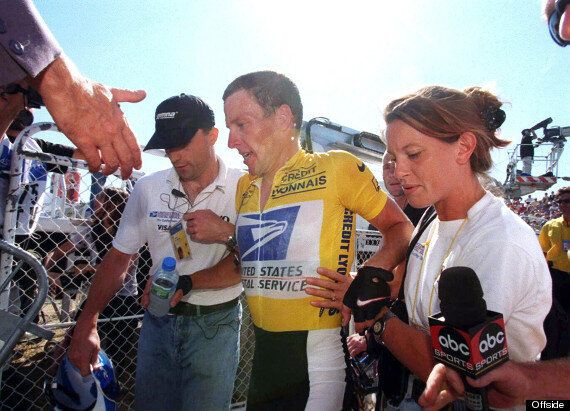 Lance Armstrong Meets Doping Whistleblower Emma