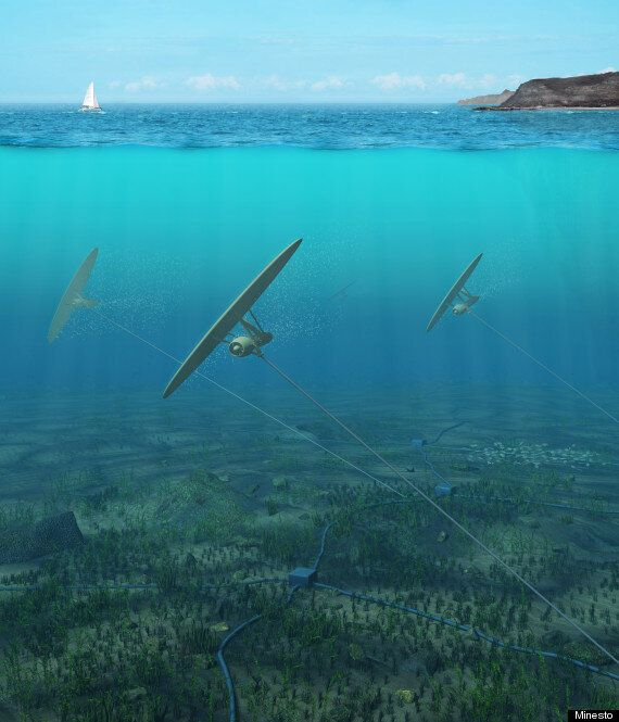 Underwater Kite Power Generators Could Harness Ocean Currents And Provide Huge Amounts Of