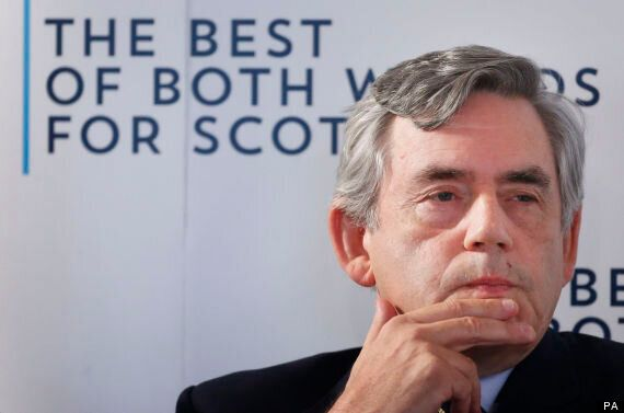 Gordon Brown Blames 'Yes' Surge On Tories As Independence Camp Takes Shock Lead In
