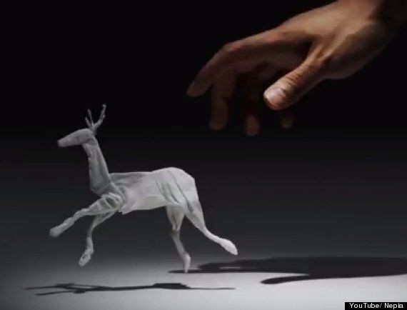 Tissue Animals In Japanese Nepia Advert Are Just Magical