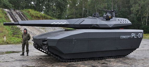 PL-01 Stealth Tank Is Practically Invisible To Infrared And