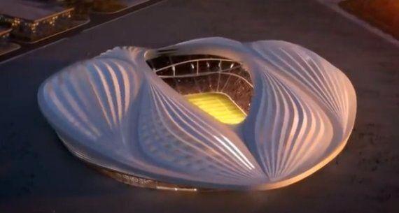 Al-Wakrah World Cup Stadium Looks Like A