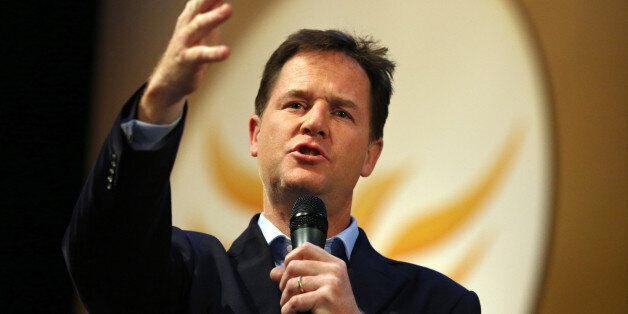 File photo dated 16/09/13 of Liberal Democrat leader Nick Clegg who was
