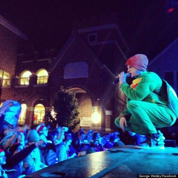 US Rapper George Watsky Apologises After Stage Dive Leaves Woman In Hospital With A Broken Arm