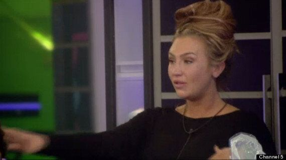 'Celebrity Big Brother': Lauren Goodger Breaks Down In Tears After Argument With George Gilbey