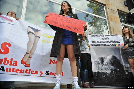 Colombians Join Miniskirt Protest Over Rape Comments